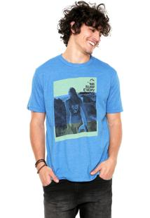 Camiseta Rusty Girl Azul