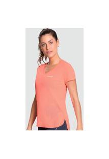 Camiseta Graphene Básica Feminina Laranja