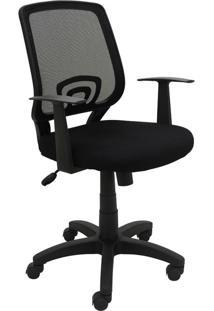 Cadeira Office Avila Preta Rivatti