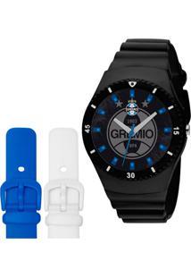 ... Relógio Masculino Analógico Technos Gre2035Ac 8P Grêmio Preto fab6b8089b3dc