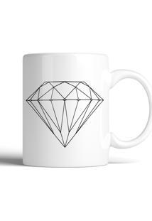 Caneca Decohouse Diamond Preto