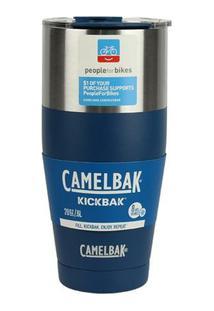 Caneca Térmica Nautika Kickbak Azul 600Ml - Unissex