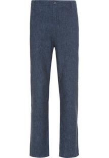 Calça Masculina Chevron - Azul
