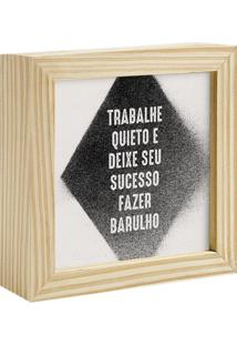 Quadro Decorativo Decohouse Moldura Art Preto