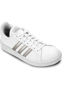 Tênis Adidas Grand Court Feminino - Feminino-Branco