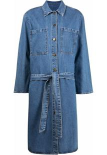 Nobody Denim Chemise Midi Jeans - Azul