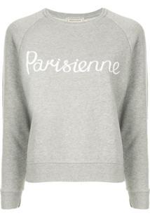 Maison Kitsuné Suéter 'Parisienne' - Cinza