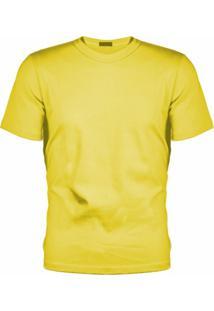 Camiseta Versatti Manga Curta Fram Amarela