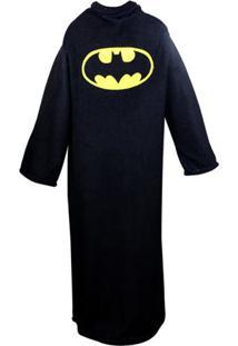 Cobertor Com Mangas Batman - Zona Criativa