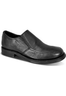 Sapato Social Confort Masculino Com Elástico - Masculino