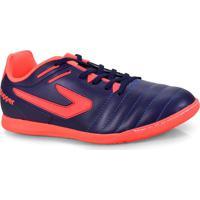 Tenis Masc Topper 4200391 0064 Boleiro Indoor Marinho Coral a8e3f0405145b