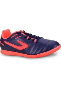 Tenis Masc Topper 4200391 0064 Boleiro Indoor Marinho/Coral