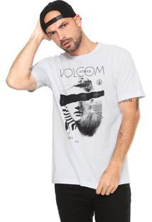 Camiseta Volcom Ripped Off Branca