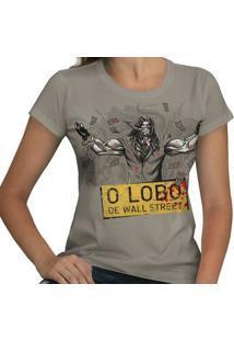 Camiseta O Lobo De Wall Street