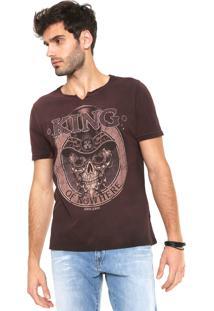 Camiseta John John King Vinho