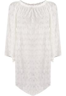 Missoni Mare Vestido De Tricô - Branco