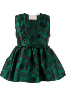 La Doublej Blusa Casati - Verde
