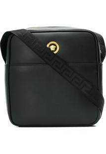 Versace Bolsa Carteiro Icon - Preto