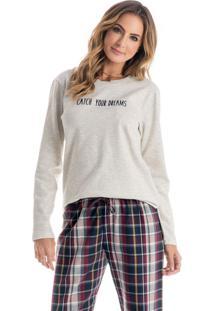 Pijama Bruna C/ Silk Longo