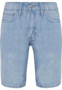 Bermuda Jeans Masculina 511 Slim Hemmed - Azul