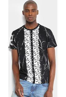 Camiseta Overcore Estampada Masculina - Masculino