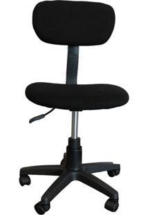 Cadeira Para Escritório Operacional 75,5X41,5Cm Preta