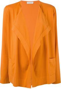 Le Tricot Perugia Blazer Clássico - Laranja