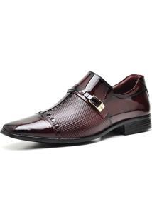 Sapato Social Gofer 12273 Vinho