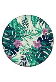 Tapete Love Decor Redondo Wevans Flowers Tropical 84Cm