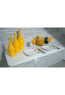 Mesa De Parede Dobrável-90C X 41L -Mdf Branco Prateleiras P/Cozinha,Bares ,Restaurantes ,Apartamentos