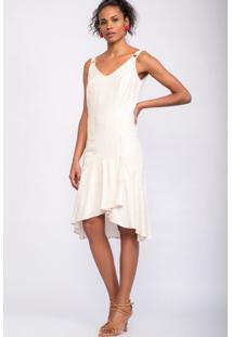 Vestido Regata Riscas De Giz Areia-48