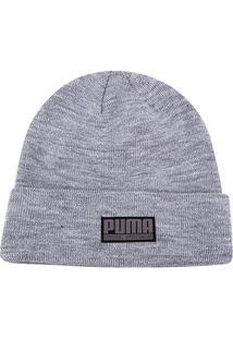 Gorro Puma Style Beanie - Unissex-Cinza