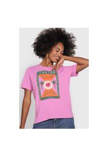 Camiseta Cantão Onça Rosa