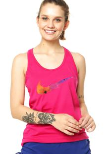 Regata Nike Sportswear Swoosh Splatter Vivid Rosa
