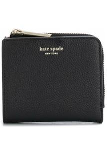 Kate Spade Carteira Dobrável Margaux Pequena - Preto