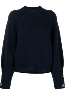 Ba&Sh Suéter Milane - Azul