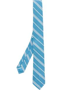 Thom Browne Gravata Listrada - Azul