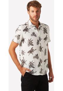 Camisa Mc Floral Christiania Masculina - Masculino
