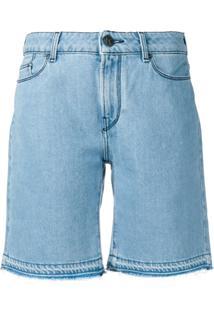 Karl Lagerfeld Bermuda Jeans - Azul