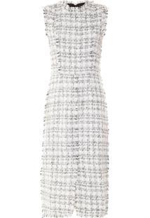 20ebd4478 Vestido Branco Tweed feminino   Gostei e agora?