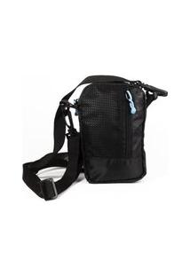 Bolsa Shoulder Bag Diamond Trotter Preto/Azul
