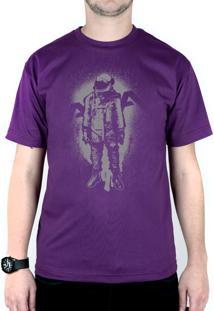 Camiseta 182Life The Astronaut Roxo
