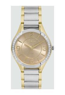 Relógio Feminino Strass Condor Co2035Kwd5T