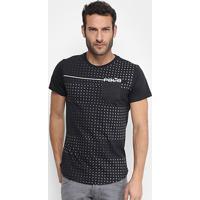 64ee121427 Camiseta Rg 518 Full Print Poá Degradê Com Bolso Masculina - Masculino
