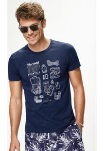 Camiseta Azul Malwee