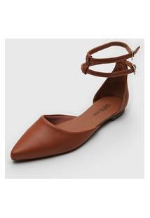 Sapatilha Dafiti Shoes Tiras Caramelo