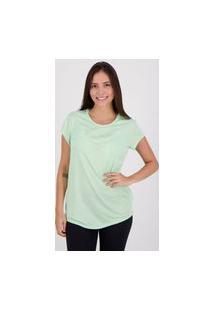 Camiseta Puma Active Heather Feminina Verde