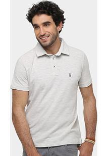 Camisa Polo Sergio K Piquet Bordado Básica Masculina - Masculino