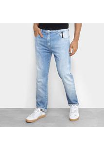 Calça Jeans Slim Ellus 2Nd Floor Estonada Clara Masculina - Masculino