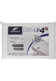 Travesseiro Lã¡Tex Up4 BrancoâPara Fronhas 50X70Cm Fibrasca - Branco - Dafiti